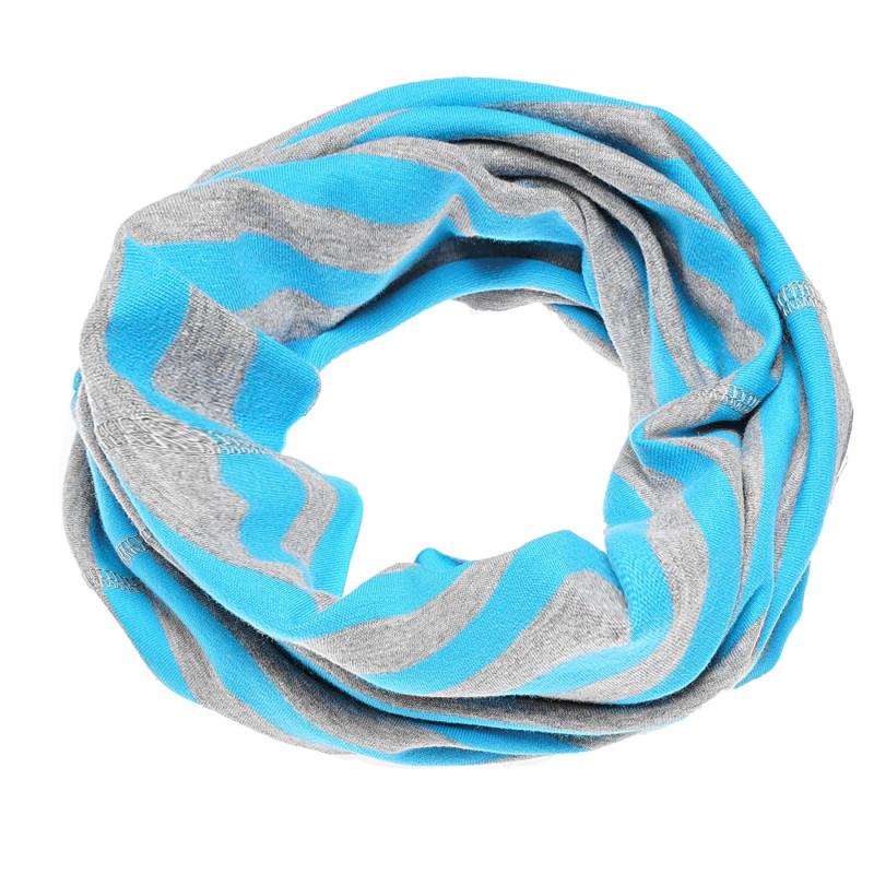 Fular în culori albastru și gri deschis  100249