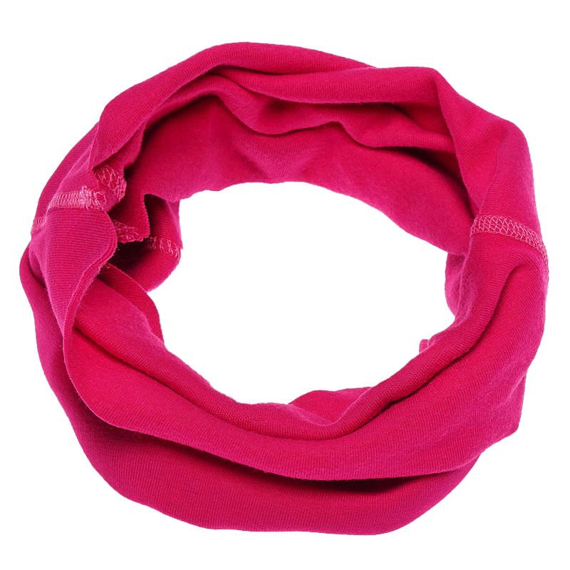 Fular de bumbac de culoare roz pentru fete  100281