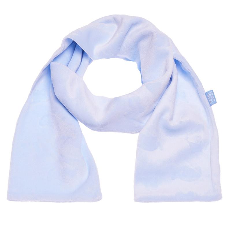 Fular de pluș albastru pentru băieți  100414