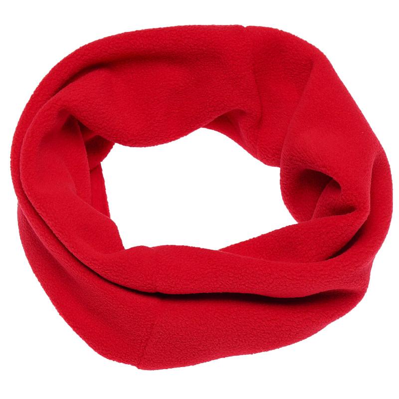 Fular de culoare roșie pentru fete  100435