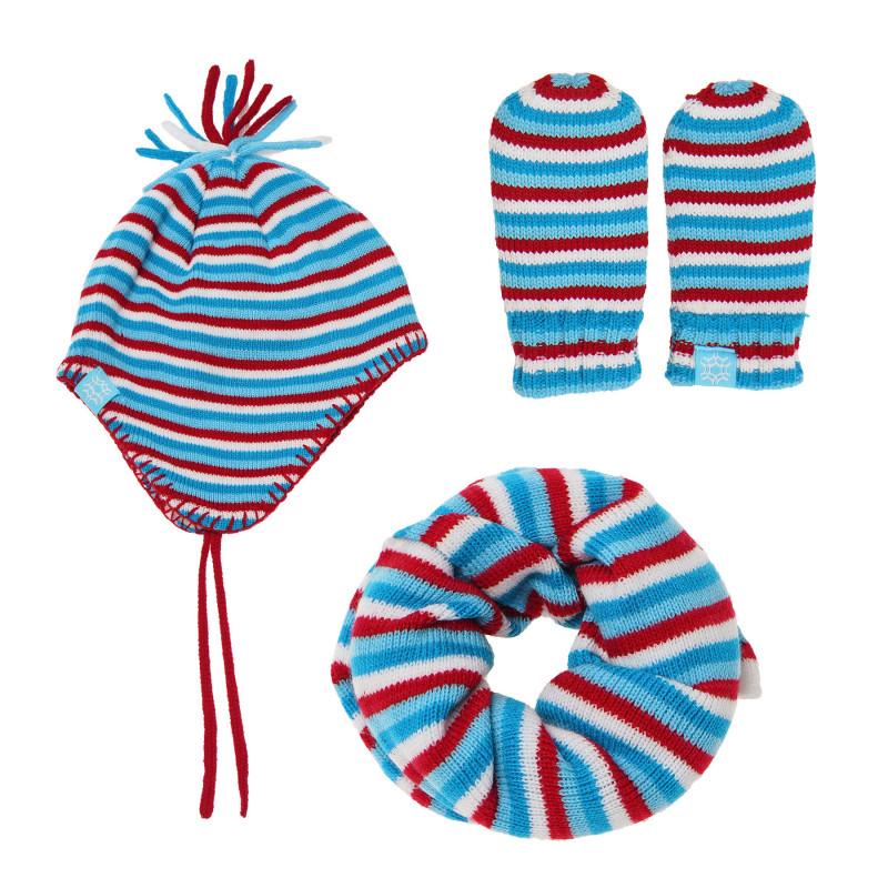 Un set albastru și roșu din 3 piese pentru copii  100478
