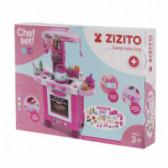 Set de joacă Bucătărie cu accesori ZIZITO Little Chef ZIZITO 100578 2
