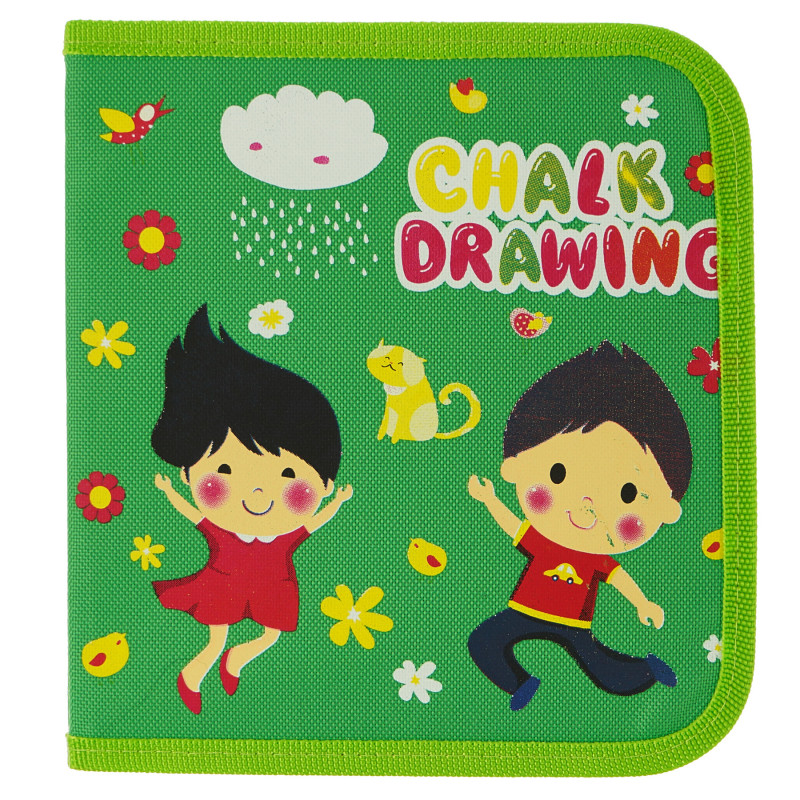 Carte de desen confortabilă - Desen cu cretă fără praf  100598