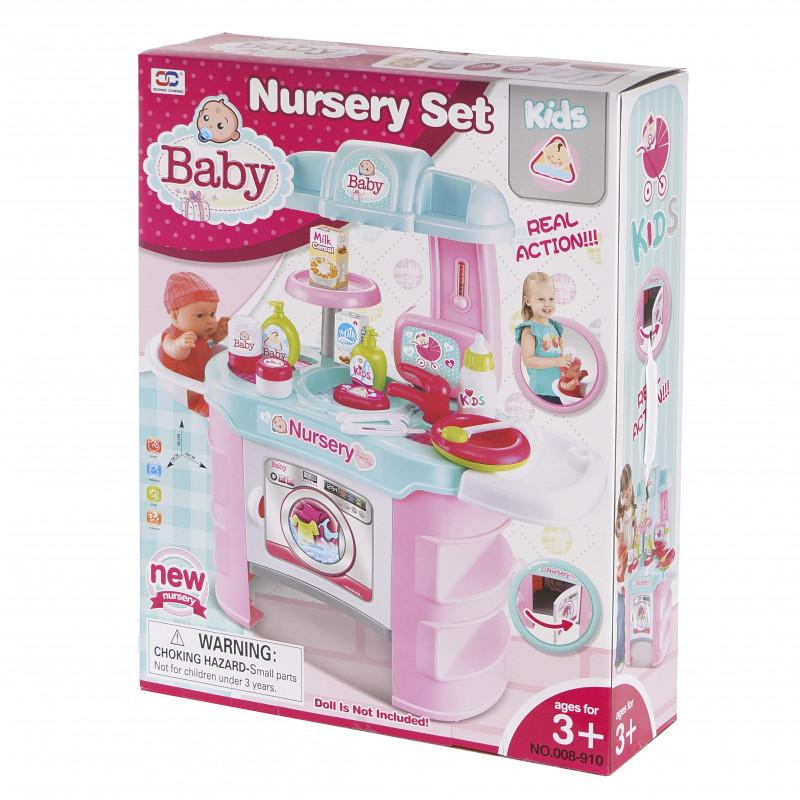 Set de joacă pentru bebeluși Baby Nursery  100610