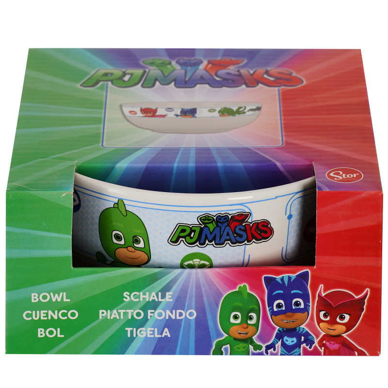 Bol din ceramică cu imagine PJ Masks în cutie cadou, 500 ml  101189