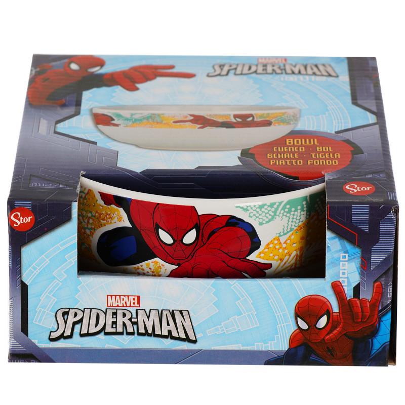 Bol din ceramică cu imagine Spiderman în cutie cadou, 500 ml  101198