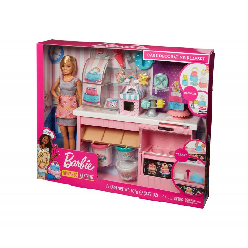 Set de tort Barbie Girl pentru fete  101715