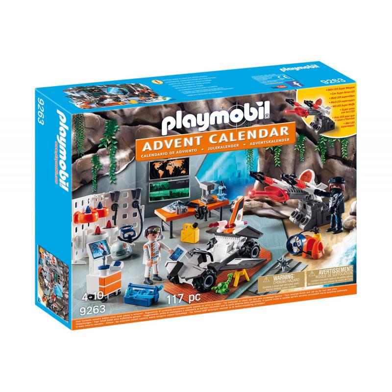 Playmobile - Calendarul de Crăciun, agenții de top  101747