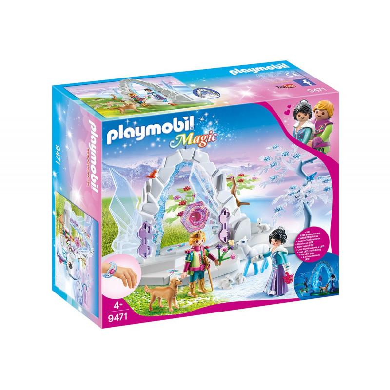 Playmobil - Poarta de intrare în lumea de iarnă, pentru fete  101752
