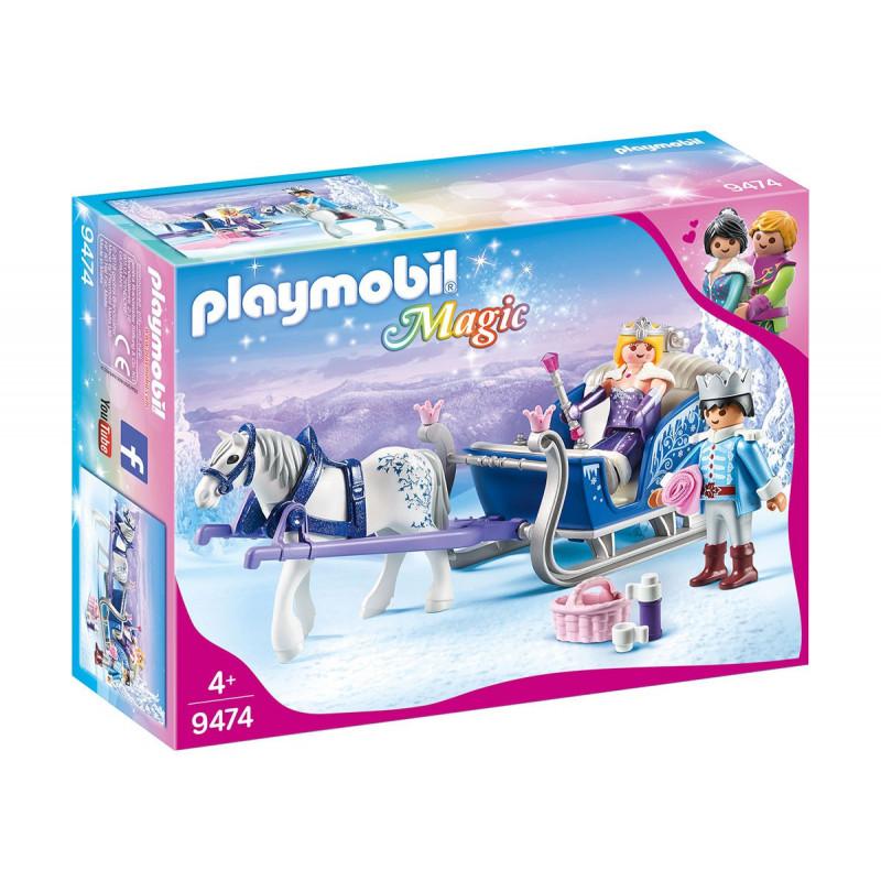 Playmobil - Magic, sanie cu cuplul regal, pentru fete  101757