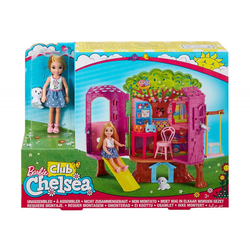Barbie Chelsea căsuța din copac, pentru fete  101868