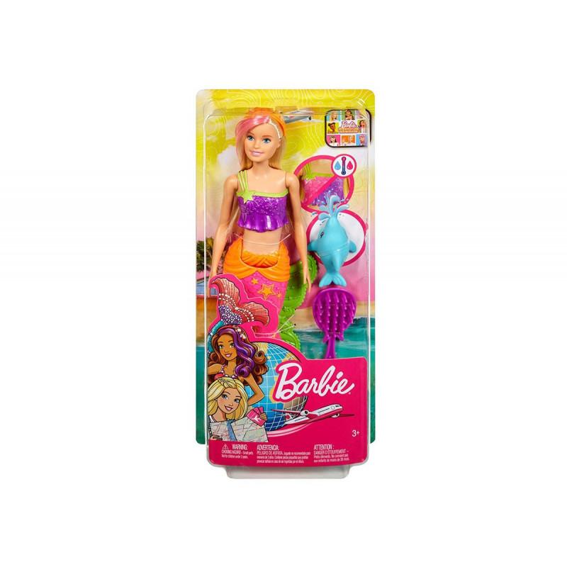 Păpușa Barbie - Sirenă,  pentru fete  101925