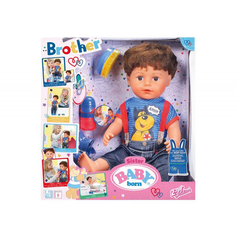 Păpușă interactivă - băiețel  101996