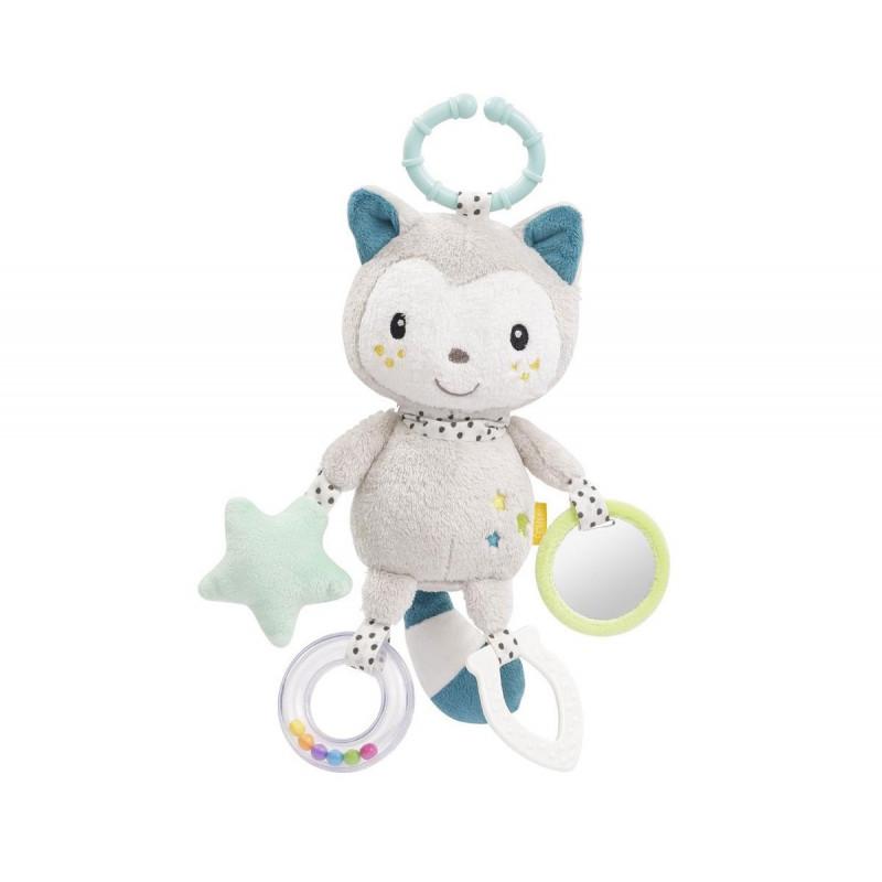 Jucărie moale pentru pisici cu inele de activitate, Yuki  102045