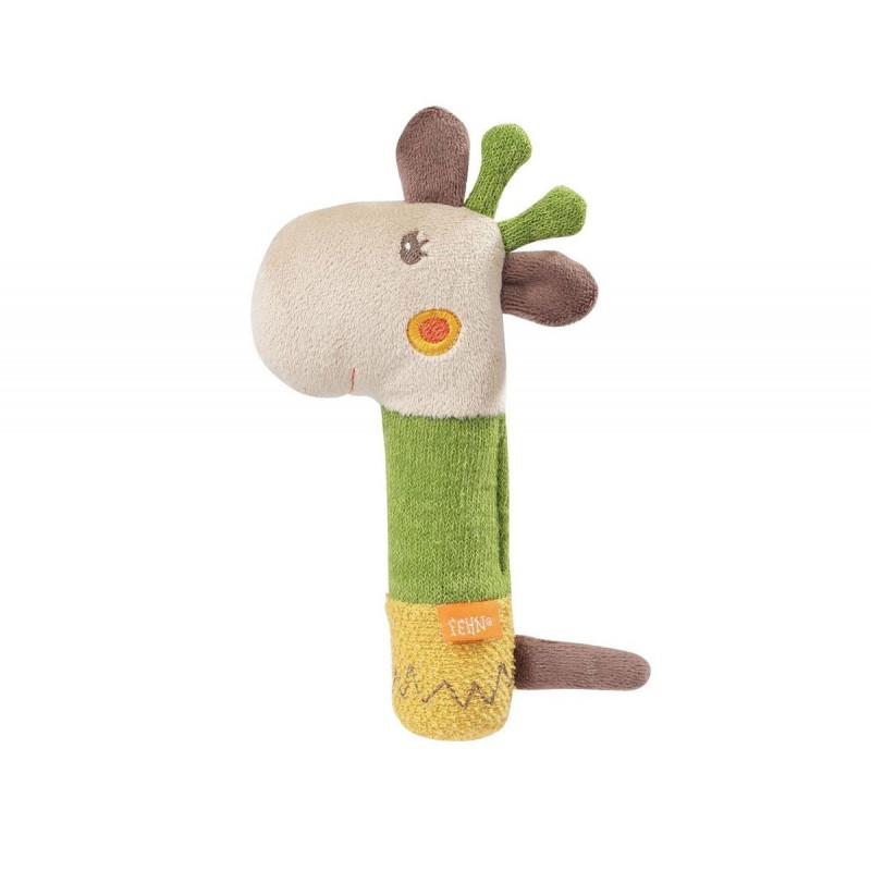 Jucărie moale de girafă cu ciucure  102100
