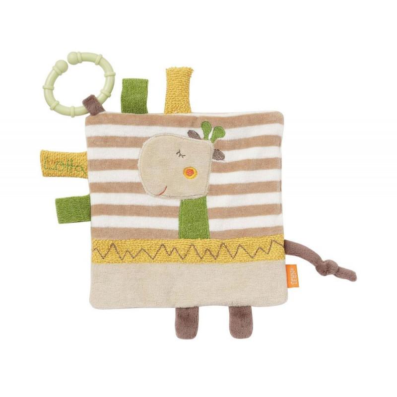 Girafă moale din pânză cu inel  102104