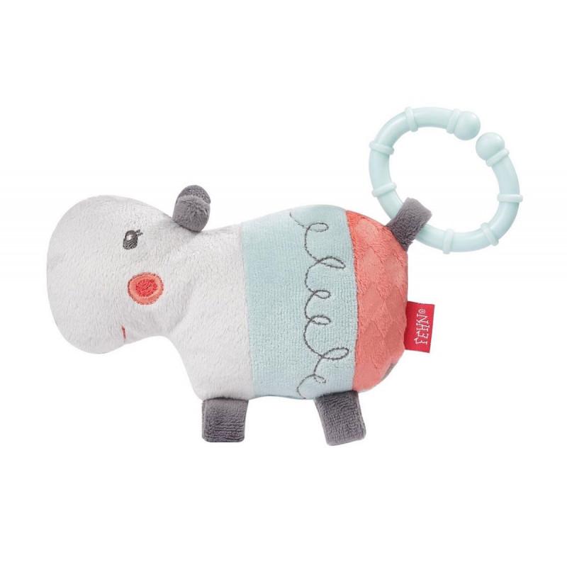 Jucărie moale hippo cu inel  102110