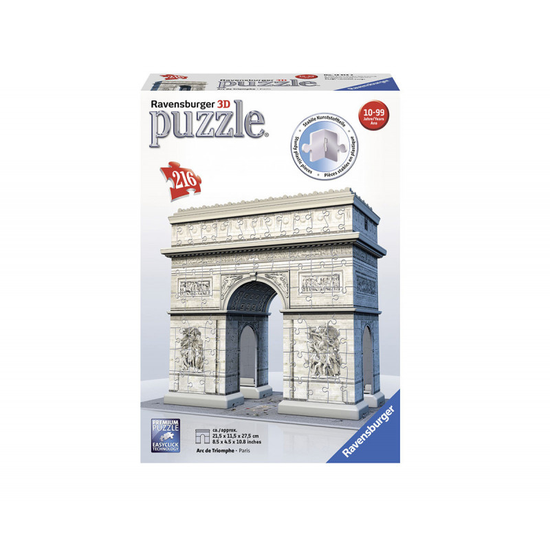 Ravensburger 3D Puzzle - Arcul de Triumf  102121