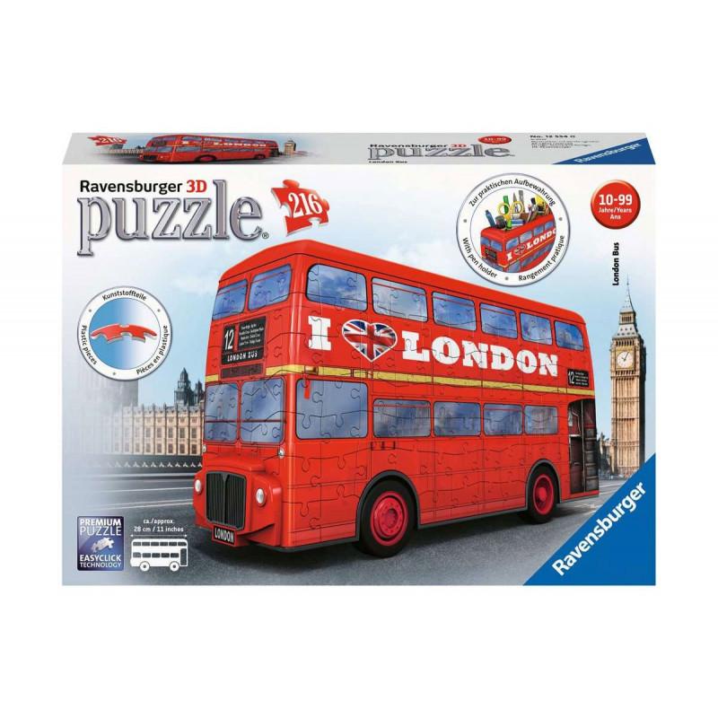 Puzzle 3D autobuz londonez  102125