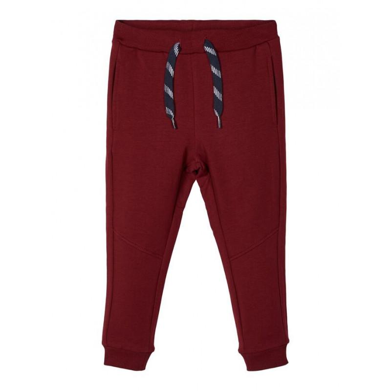 Pantaloni cu bandă elastică largă și șiret pentru băieți  102530
