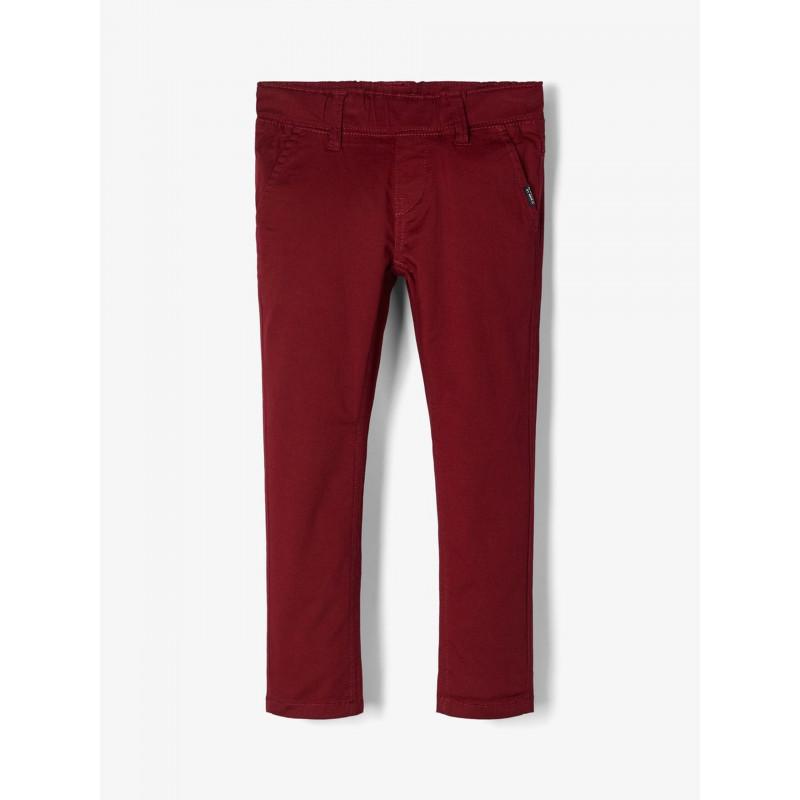 Pantaloni roșii cu un buzunar ascuns pentru băieți  102556