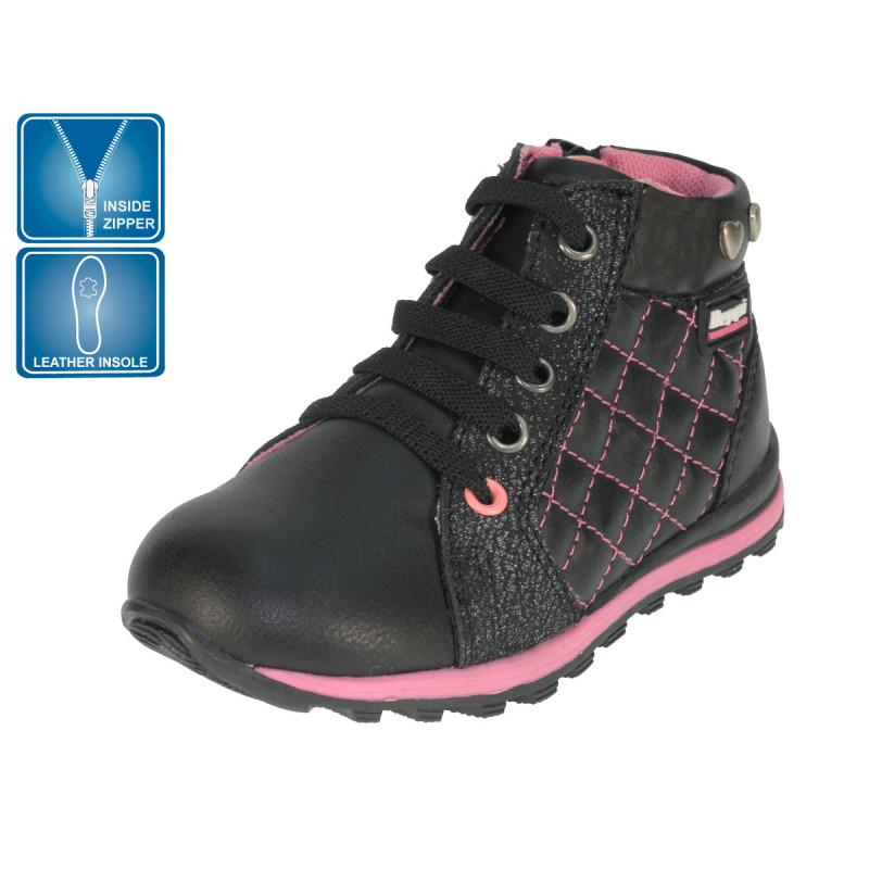Ghete cu culori roz și negru  102653