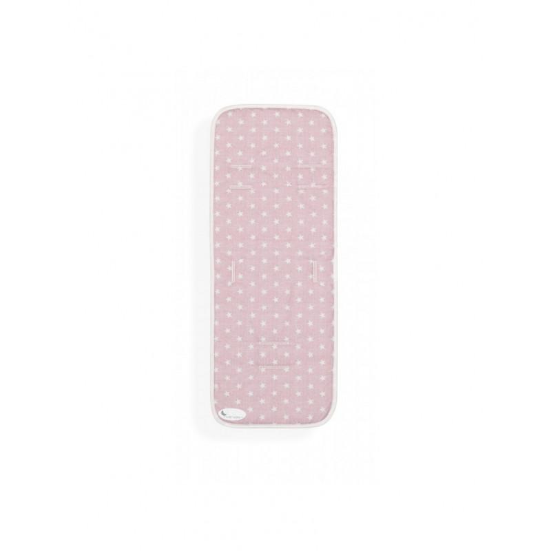 Salteluță de culoare roz pal cu steluțe albe  102688