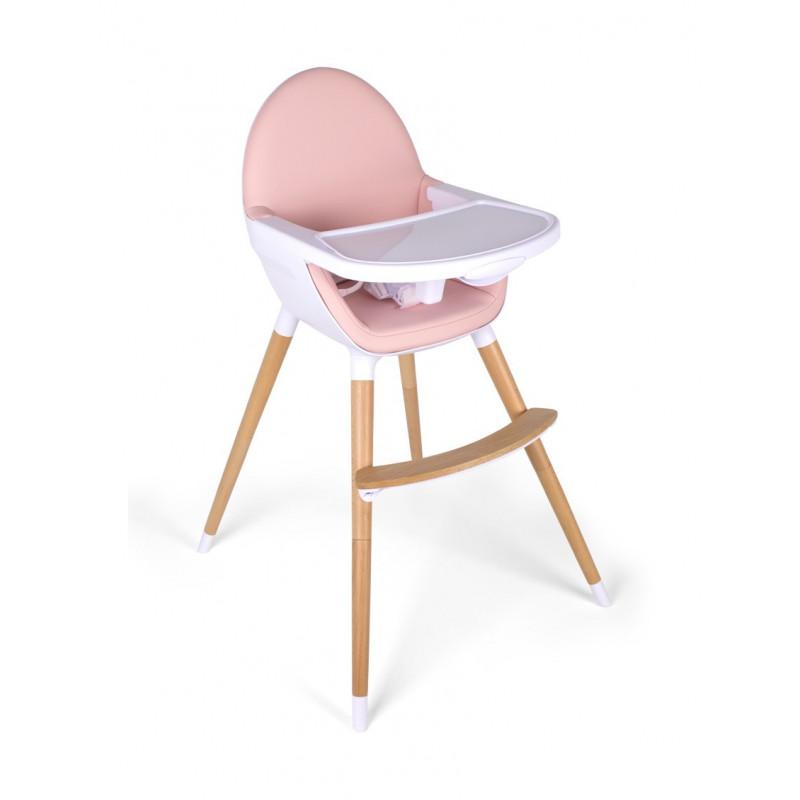 Scaun de luat masa Baby Grow Rosa Interbaby, roz  102761