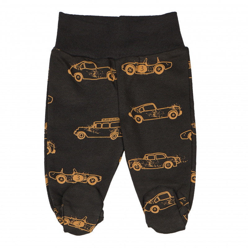 Pantaloni pentru bebeluși din bumbac cu imprimeu  102831