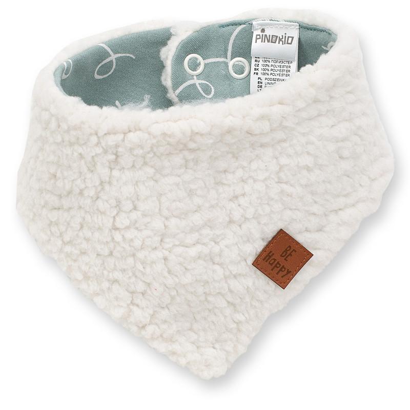 Bandana din bumbac de culoare albă pentru un copii  102882
