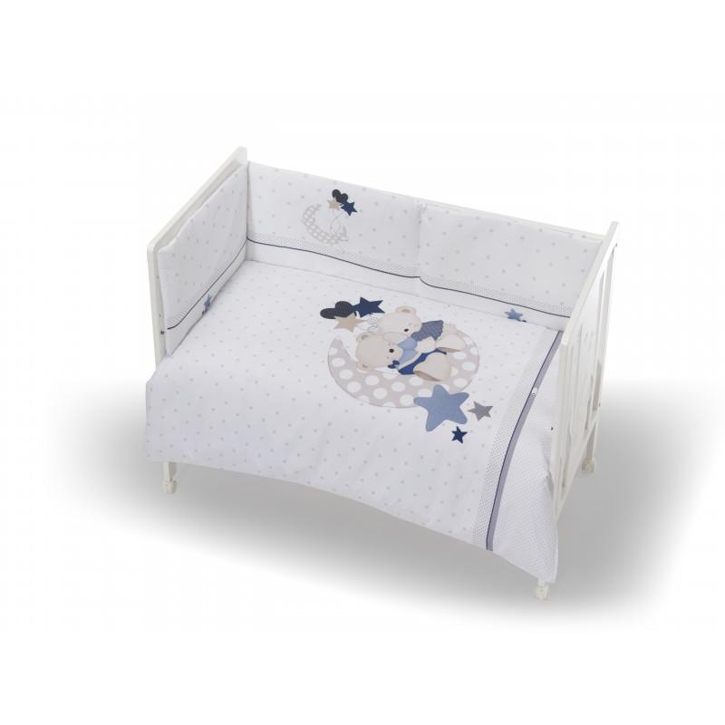 Set de dormit pentru băieți, de culoare albă, 3 piese   102948