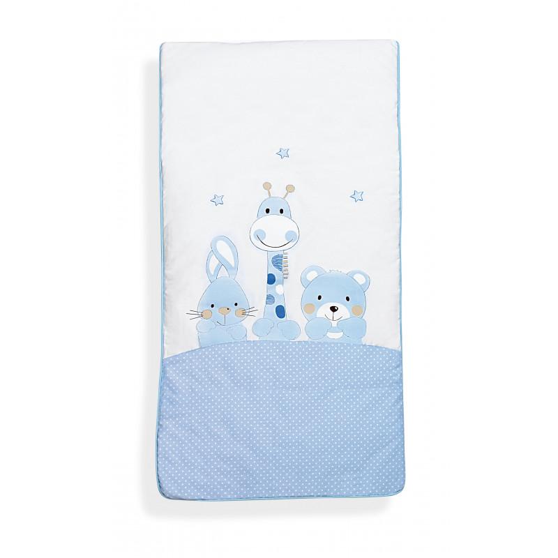 Set de dormit de 3 piese de culoare albă din bumbac 100% pentru băieți  102963
