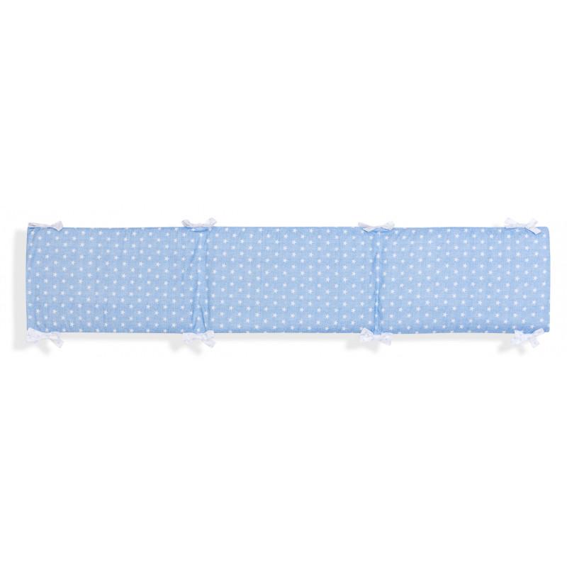 Lenjerie de pat, albastru cu imprimeu  102971