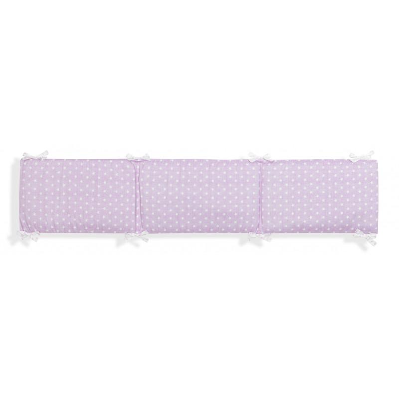 Lenjerie de pat, roz cu imprimeu punct  102973
