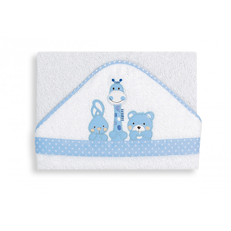 Prosop pentru copii cu margini albastre  103142