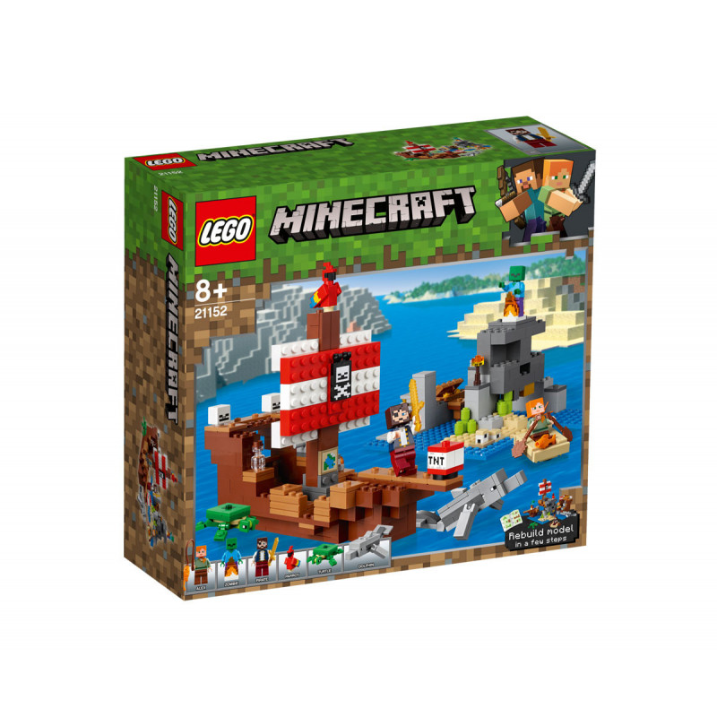 LEGO Minecraft Pirate Ship Adventure 386  103256