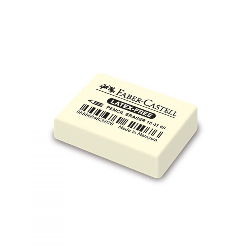 Radieră din cauciuc, albă  103312