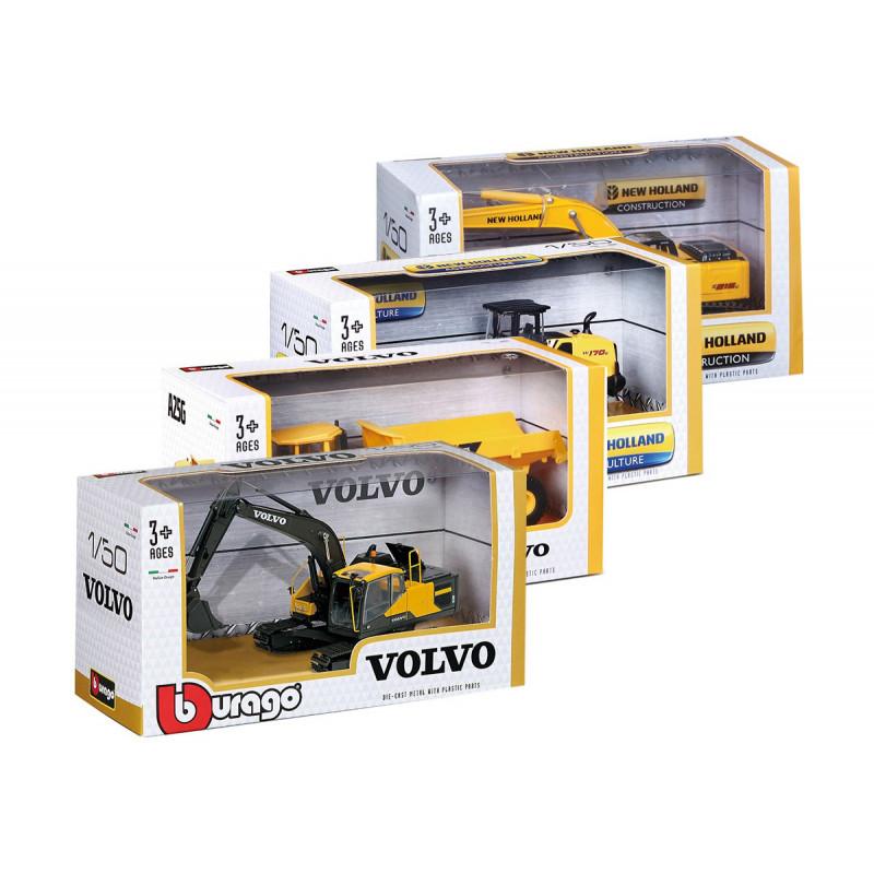 Burago - model metalic Volvo la scară 1/50, pentru băieți  103436