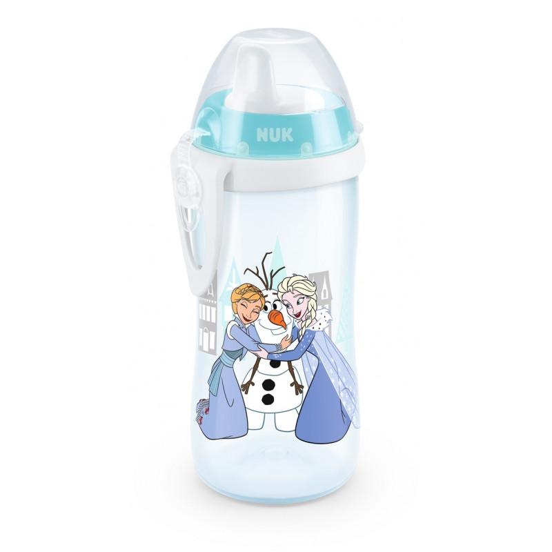 Flacon din polipropilenă Kiddy Cup cu suzeta 12+ luni, 300 ml  105161