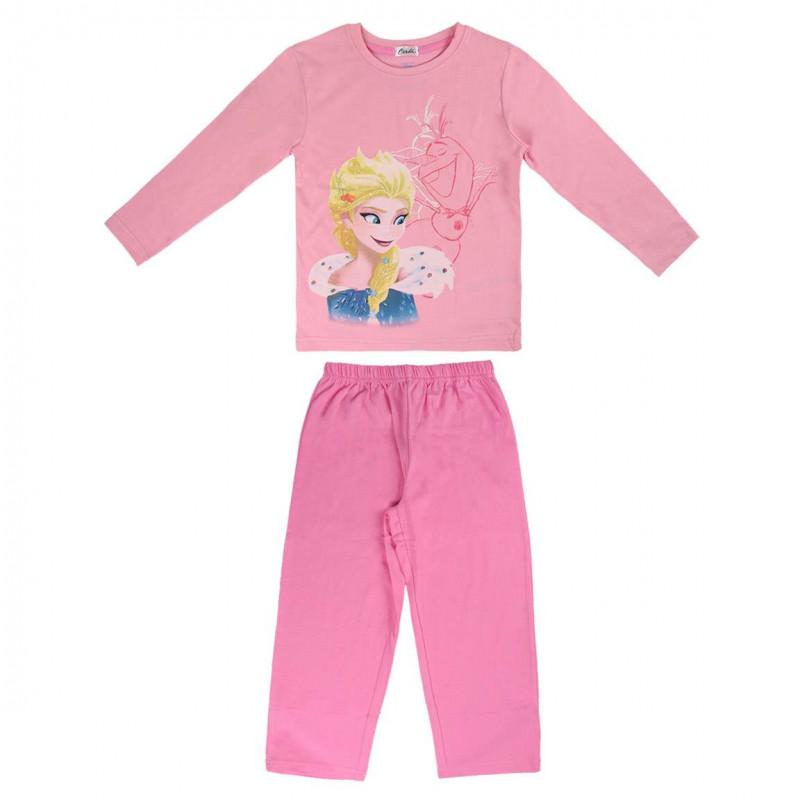 Pijamale pentru fete cu design Frozen  1062