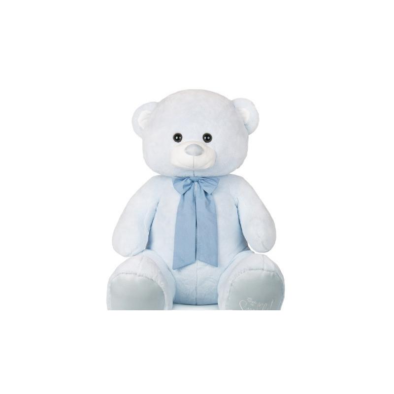Ursuleț de pluș albastru, 80 cm  106919