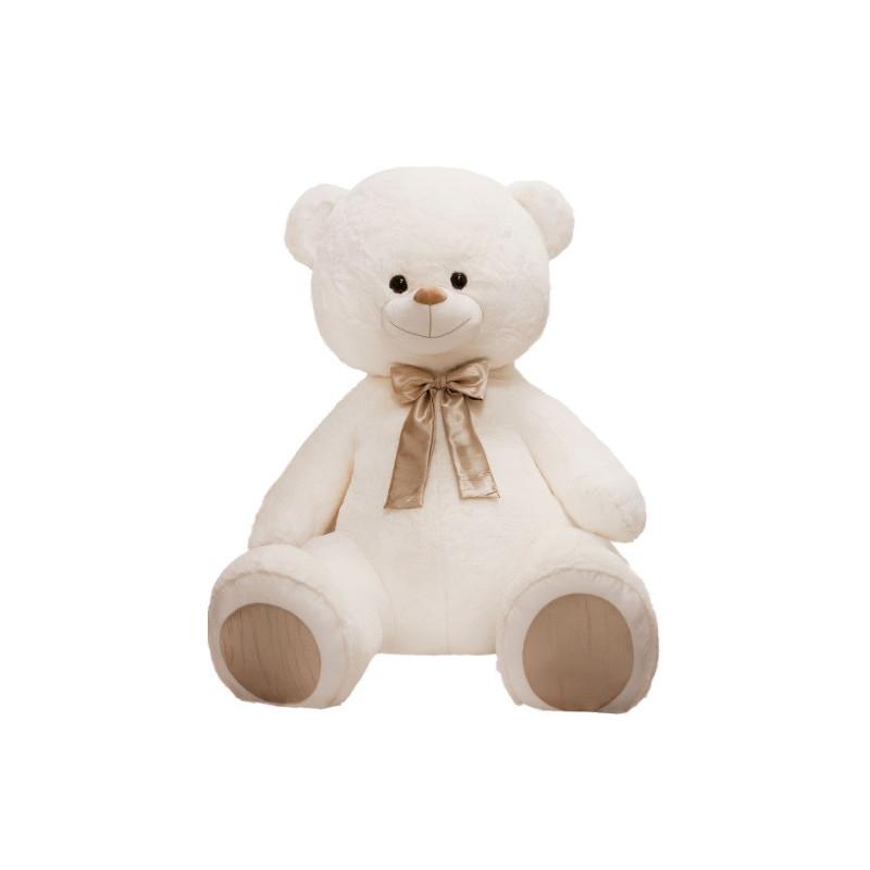 Ursuleț de pluș alb, 120 cm  106920
