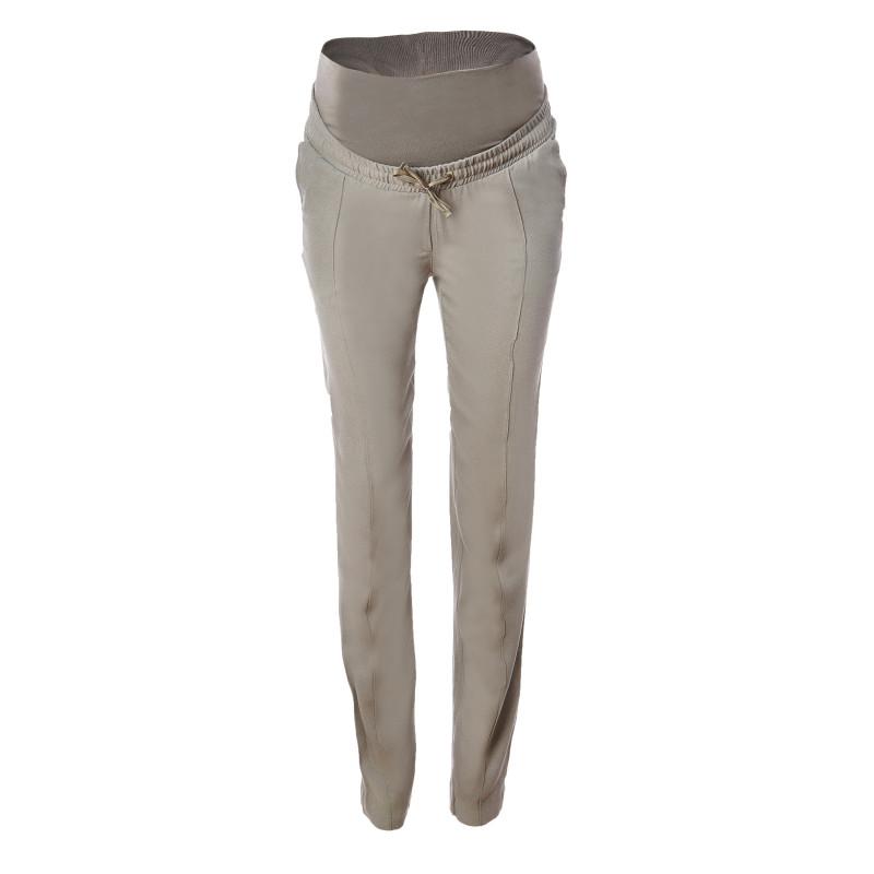 Pantaloni gri pentru gravide  107000