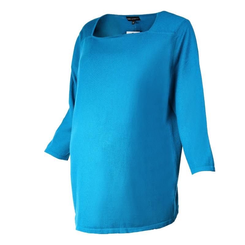Bluză cu mâneci lungi, albastru  107033