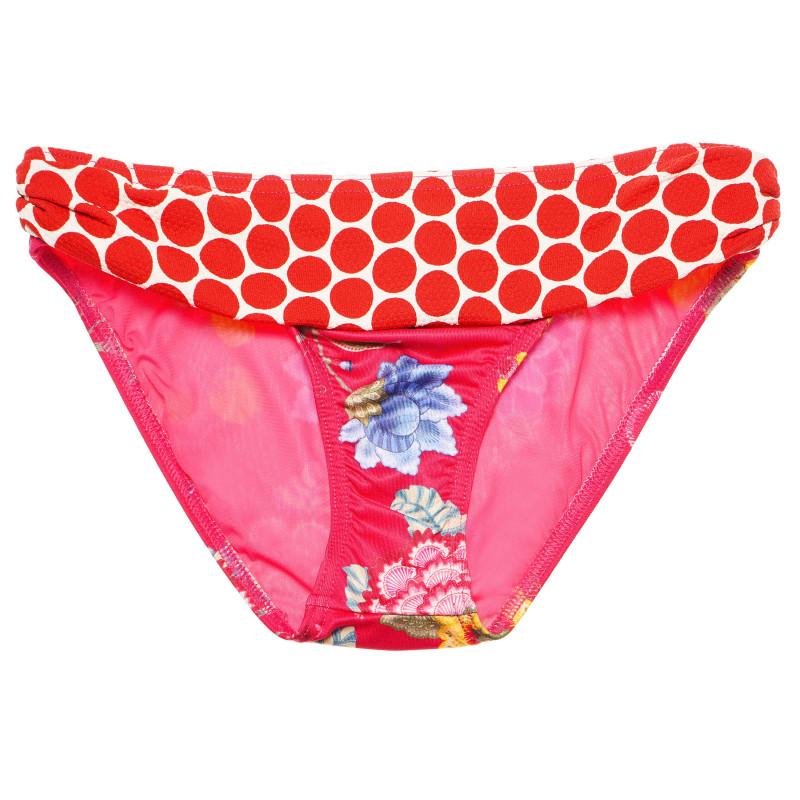 Slipi pentru costum de baie cu design multicolor pentru gravide  107057