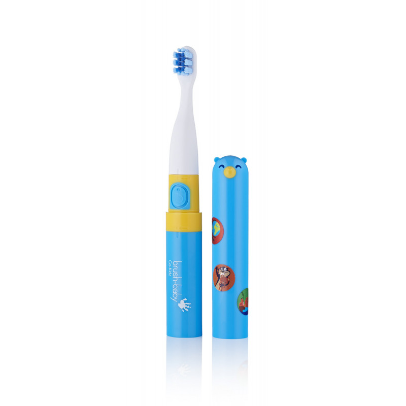 Periuță de dinți electrică Go-Kids cu autocolante, peste 3 ani  107097
