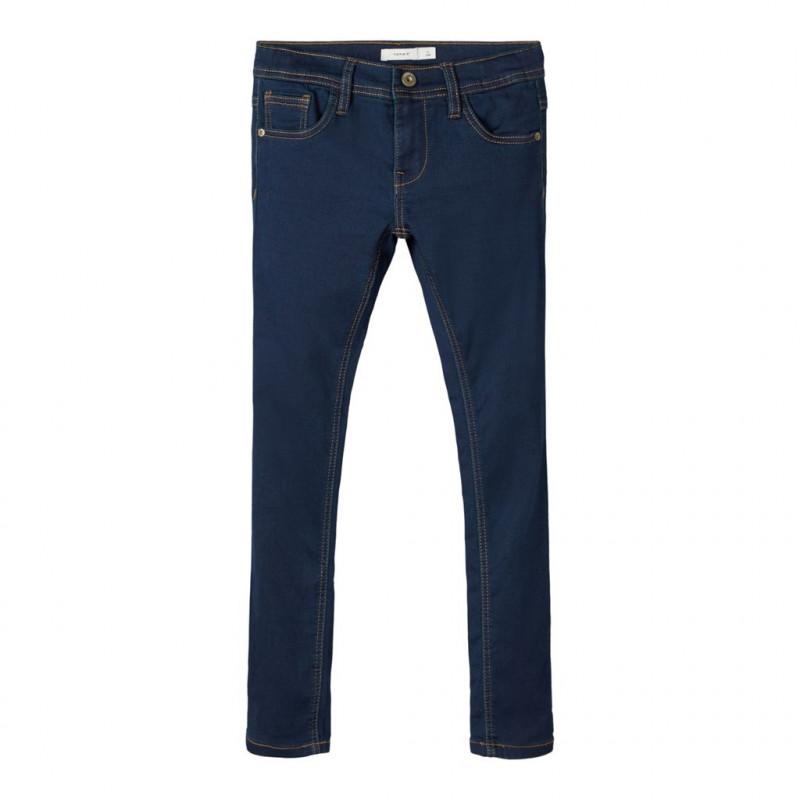 Jeans cu croi drept clasic pentru băieți  107350