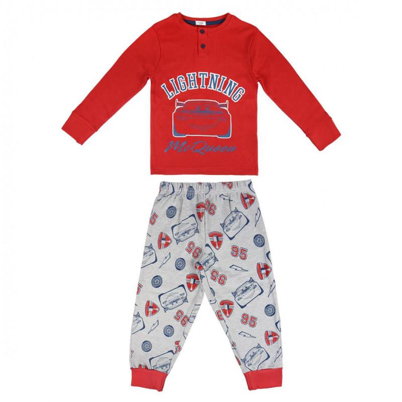 Pijamale pentru băieți cu imprimeu din animația Cars 3  1082