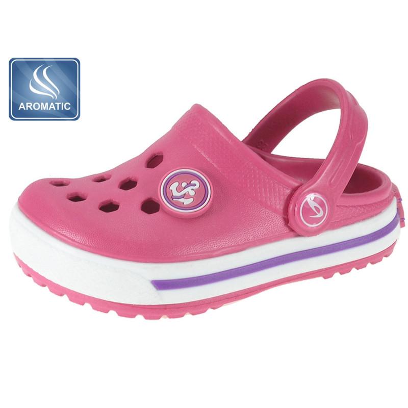Șlapi de cauciuc Beppi, fată, roz  111541