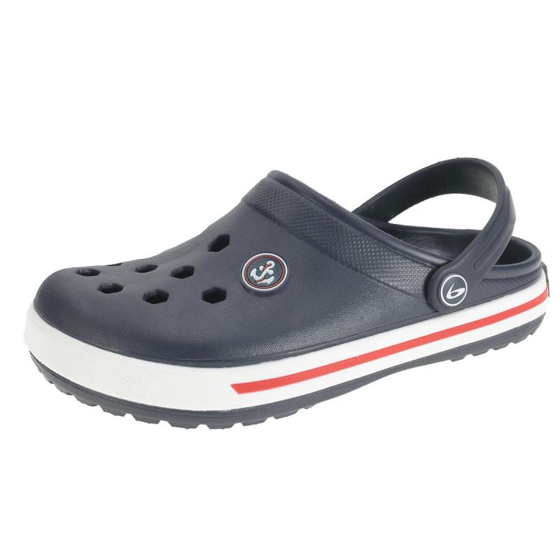 Papuci de cauciuc de culoare albastru închis Beppi  111841